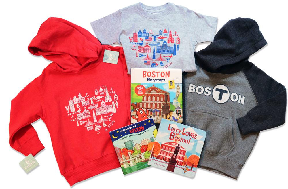 Boston Red Sweatshirt-Grey T sweatshirts-books