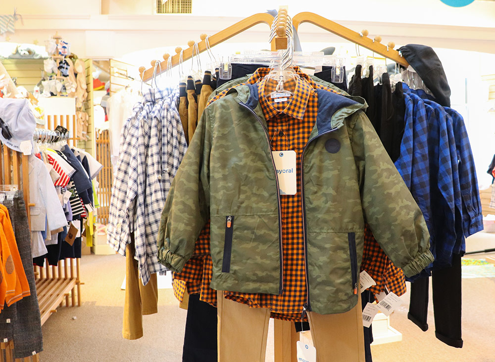 Big Boy - Khaki pants-camo jacket-checkered shirts