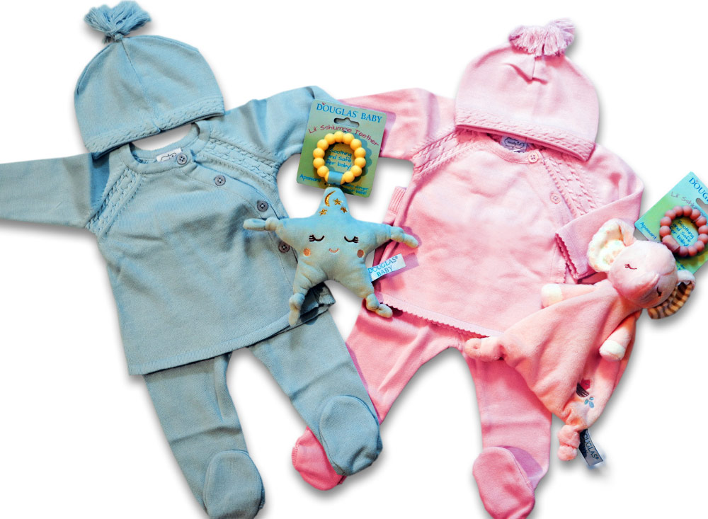 ss-53_Pink-Blue-Twin-baby-outfits