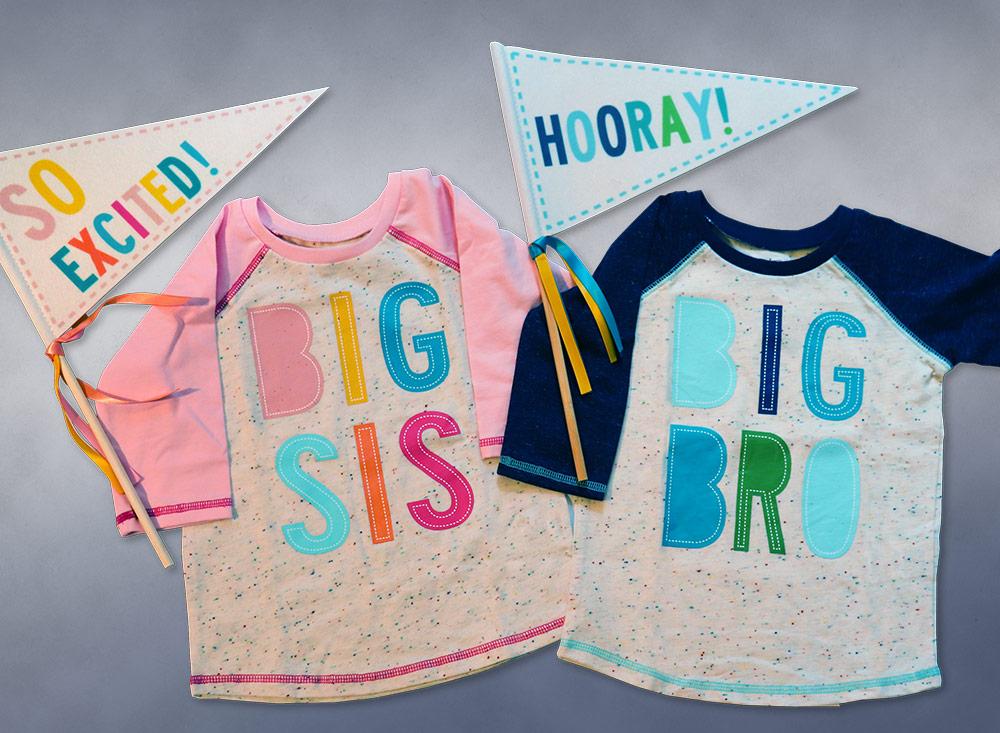 big brother/big sister shirts