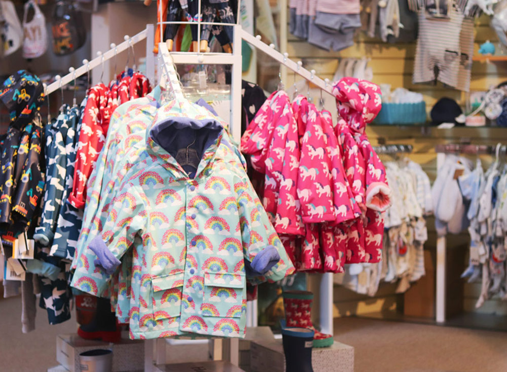 raincoats The Nutshell fine children's clothing